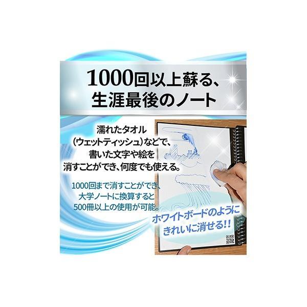 ロケットブック Rocketbook 電子ノート 電子メモ スマートノート 正規品|worldtrendshop|03