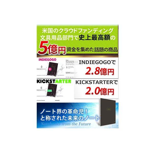 ロケットブック Rocketbook 電子ノート 電子メモ スマートノート 正規品|worldtrendshop|04