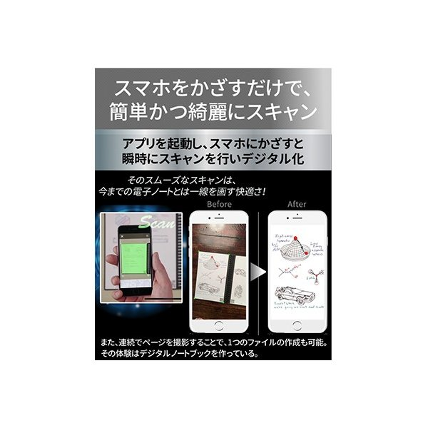 ロケットブック Rocketbook 電子ノート 電子メモ スマートノート 正規品|worldtrendshop|05
