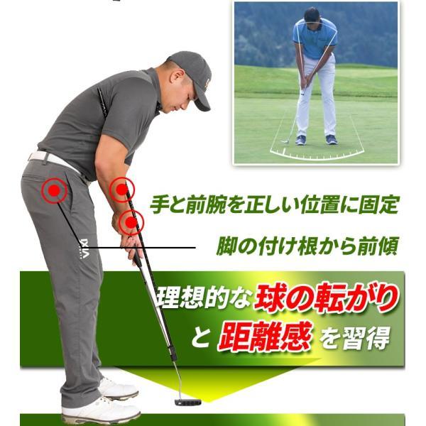 パター 練習 器具 ゴルフ 練習用 室内 スイング  パッティング パターマット|worldtrendshopnshop|10