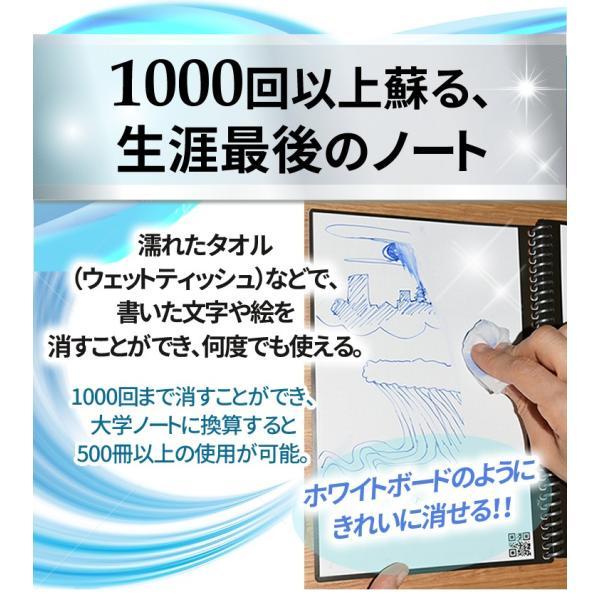 ロケットブック Rocketbook エバーラスト 電子ノート 正規品|worldtrendshopnshop|08