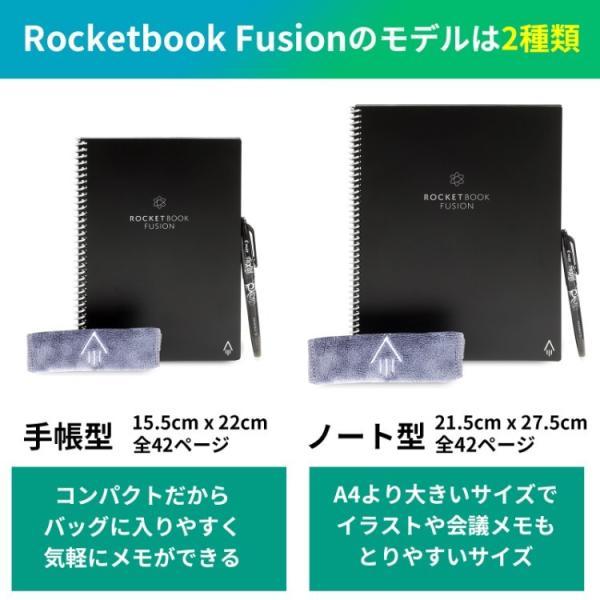 フュージョン ロケットブック  Rocketbook サブステナブル 電子ノート 正規品 worldtrendshopnshop 02
