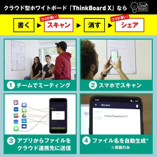 シンクボード ホワイトボード クラウド連携 ThinkBoard Sサイズ|worldtrendshopnshop|05
