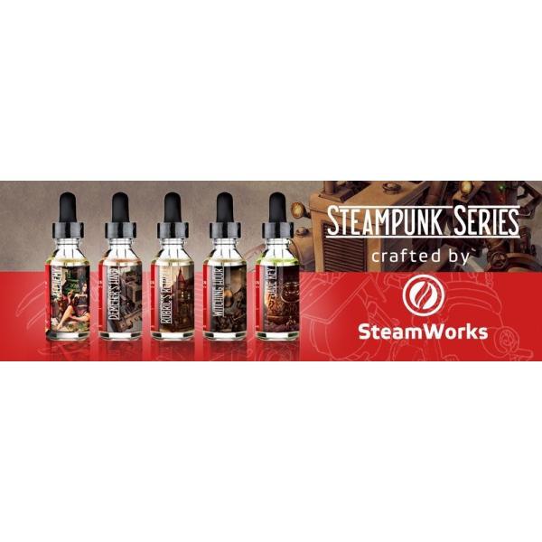 VAPE リキッド 電子タバコ Steamworks Demeter's Hand スチームワークス ディメーターズハンド ジャスミン&グリーンティー 30ml ベイプ 電子たばこ|worldvapeshop|02