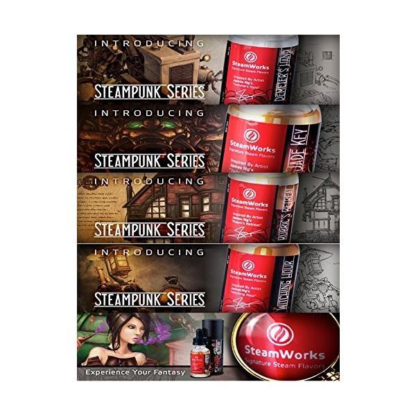 VAPE リキッド 電子タバコ Steamworks Demeter's Hand スチームワークス ディメーターズハンド ジャスミン&グリーンティー 30ml ベイプ 電子たばこ|worldvapeshop|03