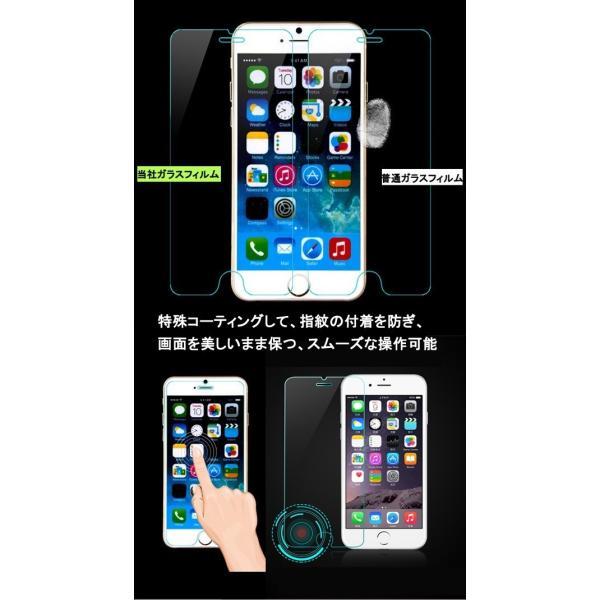 保護フィルム 強化ガラスフィルム スマホ液晶保護フィルム iPhone8 8Plus iPhone7 7Plus iPhone6s 6Plus iPhoneX XSmax 5s 5 SE スマホ保護シート 送料無料 L-12|woyoj|03