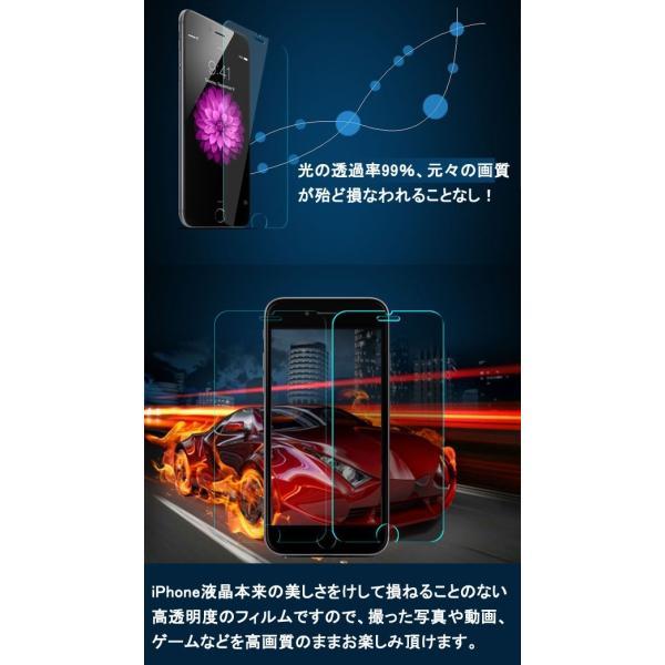 保護フィルム 強化ガラスフィルム スマホ液晶保護フィルム iPhone8 8Plus iPhone7 7Plus iPhone6s 6Plus iPhoneX XSmax 5s 5 SE スマホ保護シート 送料無料 L-12|woyoj|08