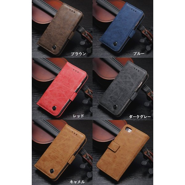 iPhone8ケース iPhone7 ケース 手帳型 レザー アイホン iPhone 8 Plus 7 Plus 6S 6 Plus ケース アイフォン6 7 8 プラス スマホケース スマホカバー L-143 woyoj 02