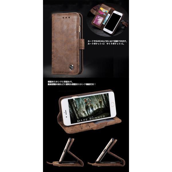 iPhone8ケース iPhone7 ケース 手帳型 レザー アイホン iPhone 8 Plus 7 Plus 6S 6 Plus ケース アイフォン6 7 8 プラス スマホケース スマホカバー L-143 woyoj 03