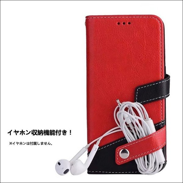iPhone8 ケース iPhone7 iPhone6s ケース 手帳型 おしゃれ スマホケース イヤホン収納 iPhoneX XS iPhone6Plus 7Plus 8Plus アイフォン8  L-178|woyoj|02