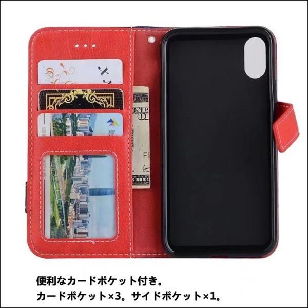 iPhone8 ケース iPhone7 iPhone6s ケース 手帳型 おしゃれ スマホケース イヤホン収納 iPhoneX XS iPhone6Plus 7Plus 8Plus アイフォン8  L-178|woyoj|03