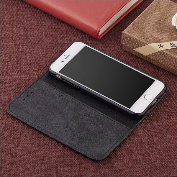 iPhone8 ケース iPhone7 カバー スマホケース アイフォン7ケース 手帳 アイフォン8ケース 手帳型 アイホン8 アイホン7 ケース レザー カード収納 手帳型 L-185-3|woyoj|18