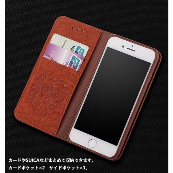 iPhone8 ケース iPhone7 カバー スマホケース アイフォン7ケース 手帳 アイフォン8ケース 手帳型 アイホン8 アイホン7 ケース レザー カード収納 手帳型 L-185-3|woyoj|03