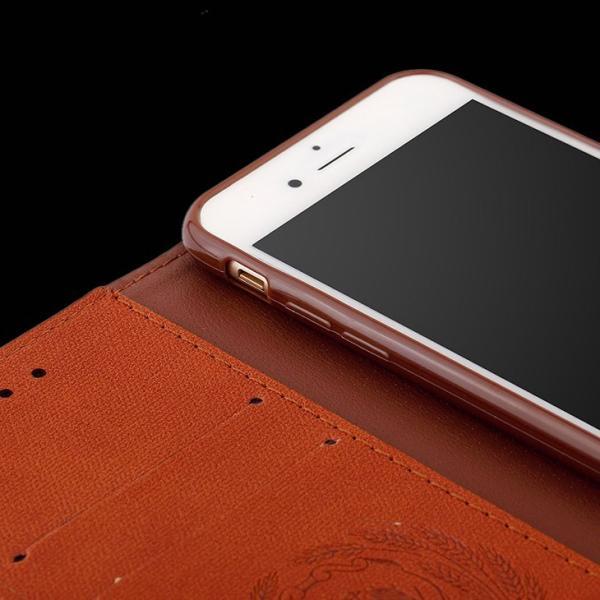 iPhone8 ケース iPhone7 カバー スマホケース アイフォン7ケース 手帳 アイフォン8ケース 手帳型 アイホン8 アイホン7 ケース レザー カード収納 手帳型 L-185-3|woyoj|05