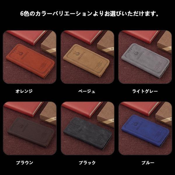 iPhone8 ケース iPhone7 カバー スマホケース アイフォン7ケース 手帳 アイフォン8ケース 手帳型 アイホン8 アイホン7 ケース レザー カード収納 手帳型 L-185-3|woyoj|08