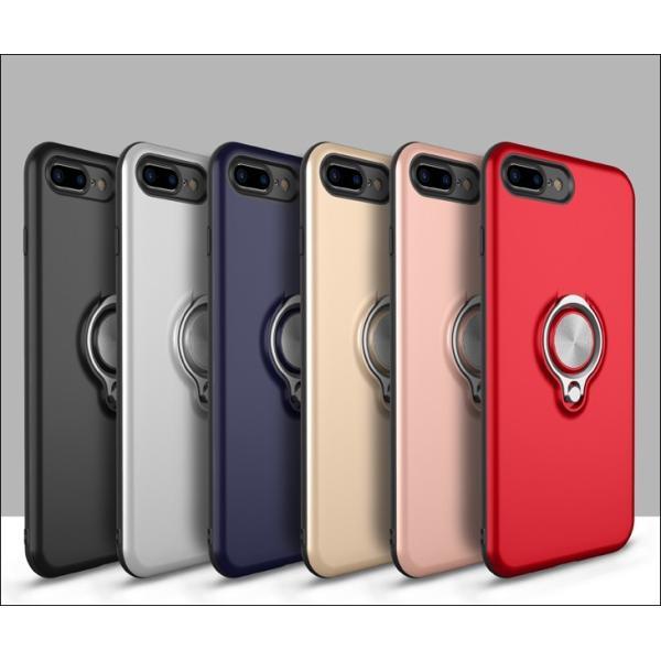 iPhone8 iPhone7 iPhone6s iPhone6 ケース リング付き 落下防止 iPhoneX iPhone XR Xs MAX ケース iPhone8Plus iPhone7Plus iPhone6Plus ケース 耐衝撃 L-189|woyoj|06
