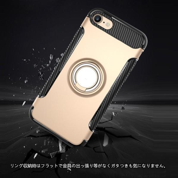 iPhone8 ケース iPhone7 ケース  落下防止 リング付き ハード iPhoneX XS iPhone6s ケース iPhone6 PLUS カバー iPhone8Plus iPhone7Plus ケース 耐衝撃 L-192|woyoj|07
