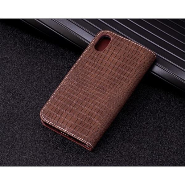 iPhone8 ケース iPhone6 iPhone7 Plus ケース 手帳型 クロコダイル ワニ柄 レザー iphoneX XS iPhone8 Plus iPhone6s Plus アイフォン6 7 8 ケース 手帳型 l-195|woyoj|11