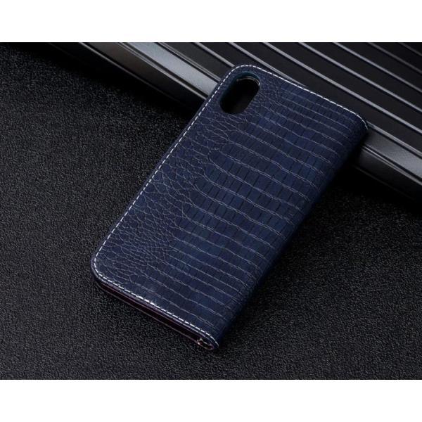 iPhone8 ケース iPhone6 iPhone7 Plus ケース 手帳型 クロコダイル ワニ柄 レザー iphoneX XS iPhone8 Plus iPhone6s Plus アイフォン6 7 8 ケース 手帳型 l-195|woyoj|09