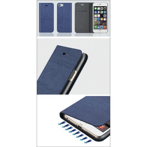 iphone6s iphone6 ケース 手帳型 iPhone7  iphone8 ケース 手帳型 木紋 木目調 アイホン8 アイフォン7 6 ケース iPhoneX XR iPhoneXS MAX ケース L-87|woyoj|03
