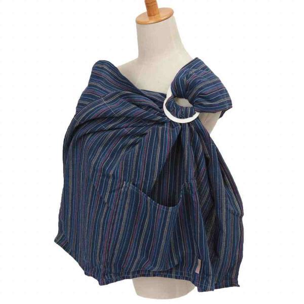 軽い 新生児 抱っこひも ベビースリング しじら織り 多機能 Happy!hughug シンプルスリング wproject 12