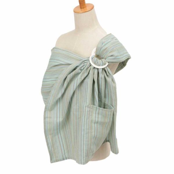 軽い 新生児 抱っこひも ベビースリング しじら織り 多機能 Happy!hughug シンプルスリング wproject 09