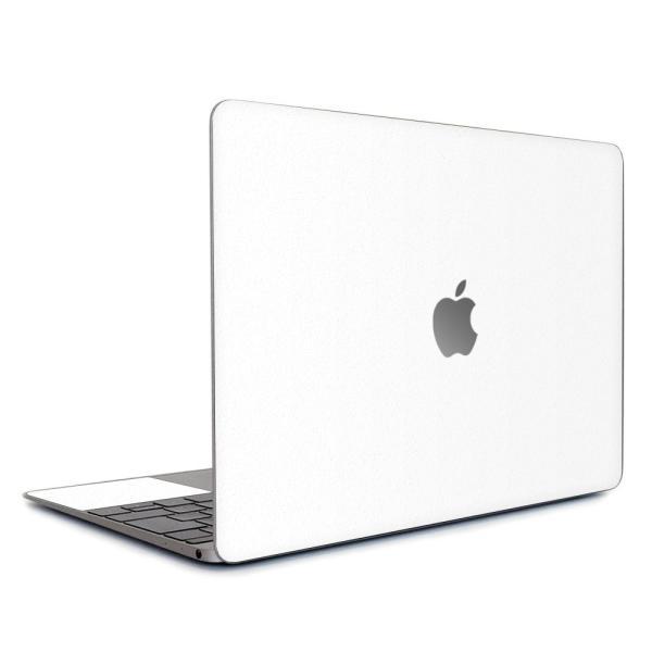 Macbook Air 11インチ スキンシール ケース カバー ステッカー フィルム wraplus 選べる31色 ホワイト 白