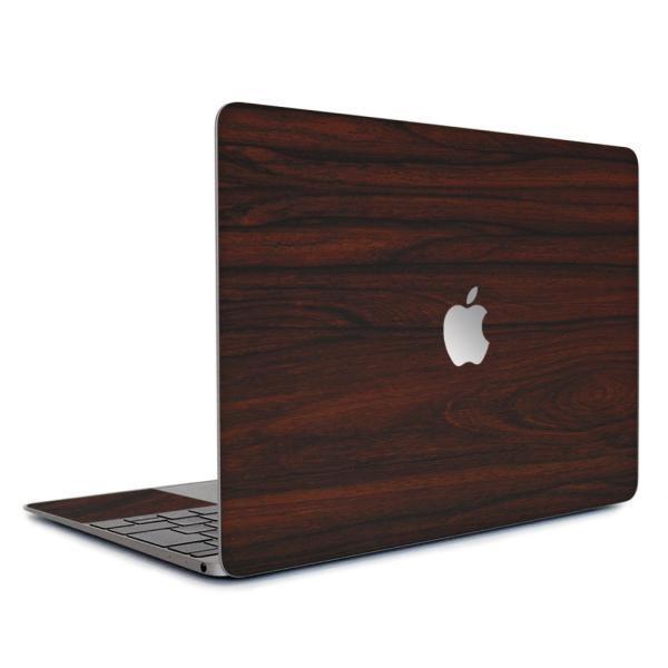 Macbook Air 13インチ スキンシール ケース カバー ステッカー フィルム wraplus 選べる31色 ローズウッド|wraplus