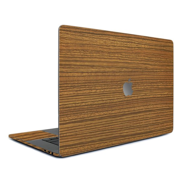 Macbook Pro 13インチ スキンシール ケース カバー フィルム 2016 Retina 対応 wraplus 選べる31色 ゼブラウッド2 wraplus