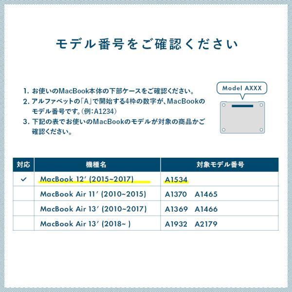 Macbook Retina 12インチ スキンシール ケース カバー フィルム wraplus 選べる31色 ホワイトアブストラクト