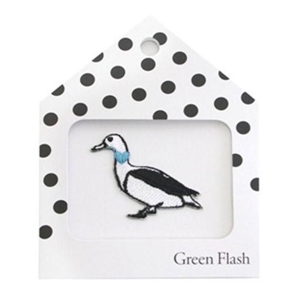 ワッペンシール グリーンフラッシュ/GreenFlash Animal Series カモ GF-042