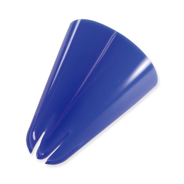 ホウケン産業 口金PE 直径25×30mm 青 20個