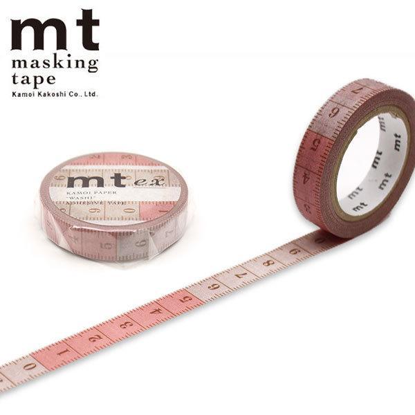 マスキングテープ mt カモ井加工紙 e× 裁縫メジャー MTE×1P201 10mm×7m