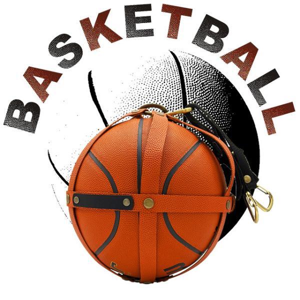バスケットボール 本革 ボールホルダー