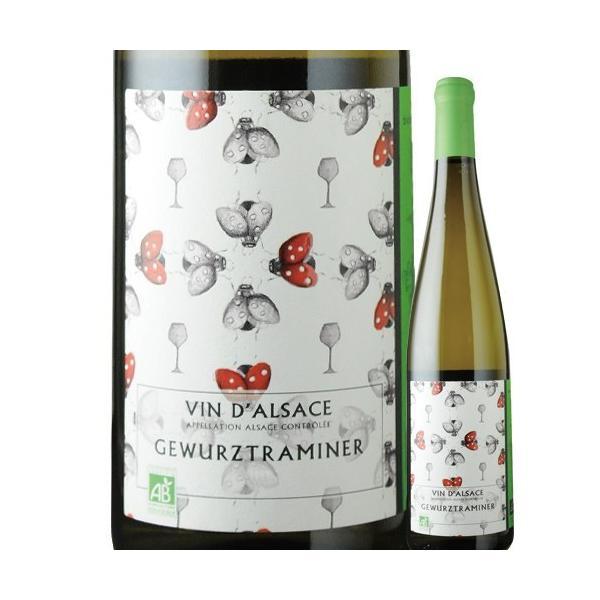白ワインゲヴュルツトラミネール・ビオカーヴ・ド・リボヴィレ2016年フランスアルザス甘口750mlwine家飲み