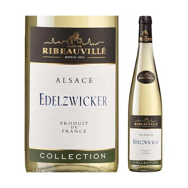 白ワインエーデルツヴィッカー・コレクションカーヴ・ド・リボヴィレ2017年フランスアルザス辛口750mlwine家飲み
