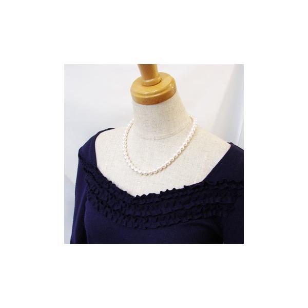 [あすつく] あこや本真珠 パールネックレス 2点セット 7.0-7.5mm CCB〜C ラウンド〜セミラウンド アコヤ本真珠 レビュー宣言で特典付き [n1]|wsp|02