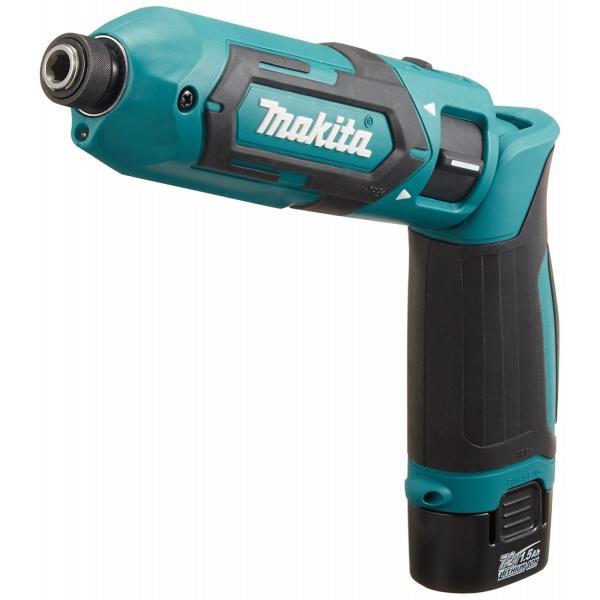 makita(マキタ)ペンインパクトドライバー TD022DSHX バッテリBL0715×2本・充電器DC07SB・アルミケース付 (青、白、黒の3色)充電ドライバー|wstone|02