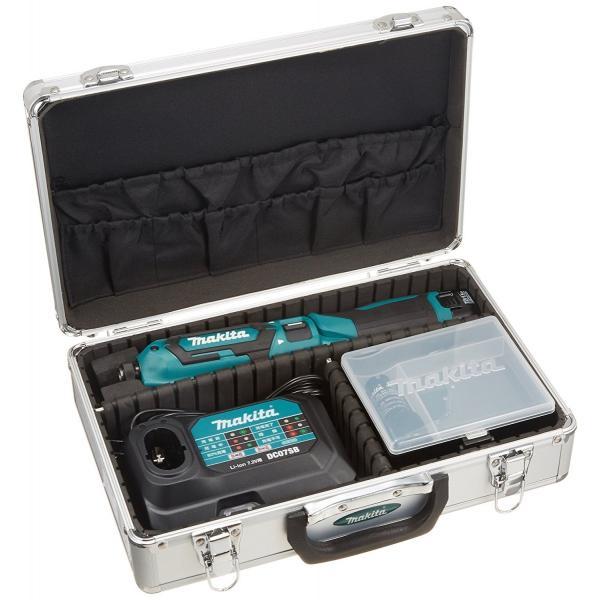 makita(マキタ)ペンインパクトドライバー TD022DSHX バッテリBL0715×2本・充電器DC07SB・アルミケース付 (青、白、黒の3色)充電ドライバー|wstone|08