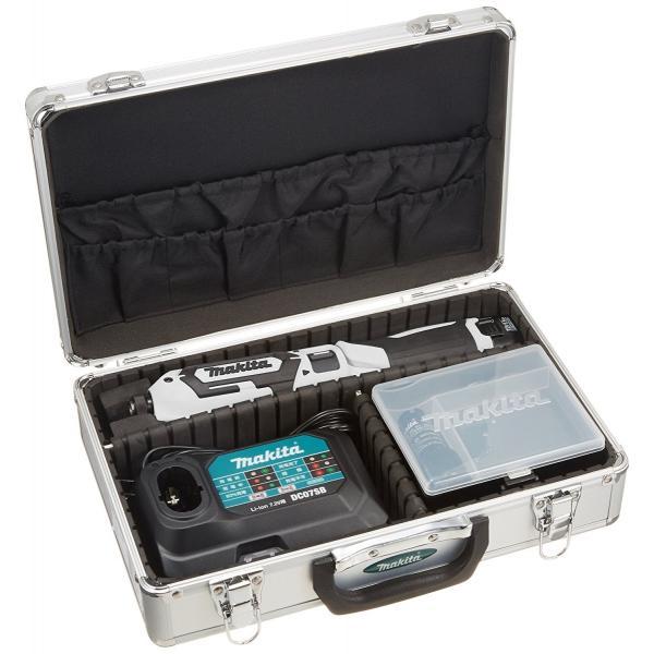 makita(マキタ)ペンインパクトドライバー TD022DSHX バッテリBL0715×2本・充電器DC07SB・アルミケース付 (青、白、黒の3色)充電ドライバー|wstone|10