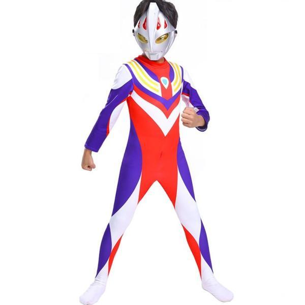 ハロウィン コスプレ 衣装 ウルトラマン コスチューム キッズ ボーイズ 男の子 ギンガ ティガ ジード 3種 wts-proshop 07