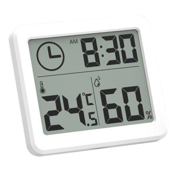 超薄型 デジタル温度計 湿度計 シンプル スマート 家庭用温度計 屋内 湿度計 電子温度湿度計 コンパクト