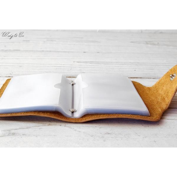 カードケース GVCB BE ( カード入れ 牛革 本革 レザー 牛皮 )|wutty|04