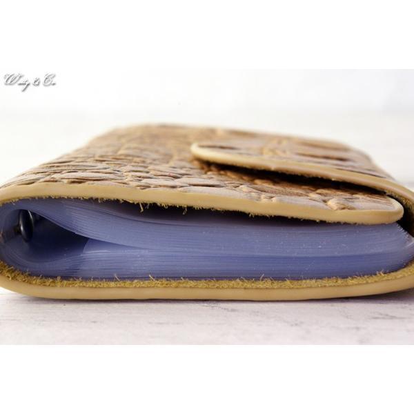 カードケース GVCB BE ( カード入れ 牛革 本革 レザー 牛皮 )|wutty|05