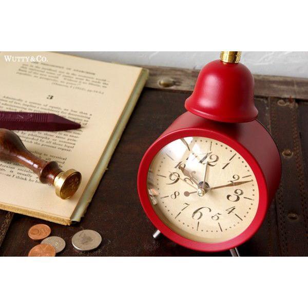 置時計 目覚まし時計 LEGER (アンティーク調 置き時計)|wutty|03