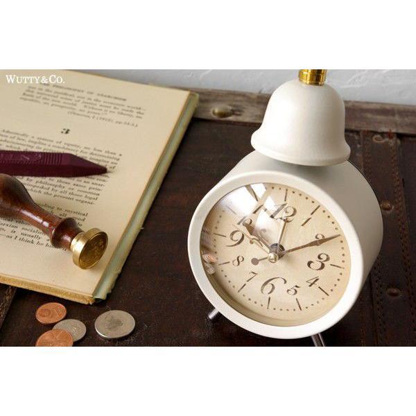 置時計 目覚まし時計 LEGER (アンティーク調 置き時計)|wutty|04
