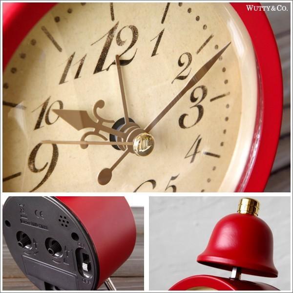 置時計 目覚まし時計 LEGER (アンティーク調 置き時計)|wutty|06