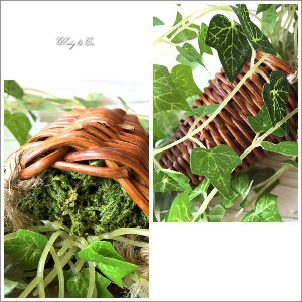 フェイクグリーン ハンギング アイビー 光触媒加工 ( 人工観葉植物 吊り下げ 壁飾り )|wutty|02