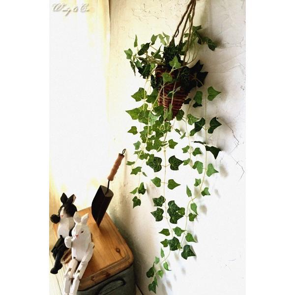 フェイクグリーン ハンギング アイビー 光触媒加工 ( 人工観葉植物 吊り下げ 壁飾り )|wutty|04