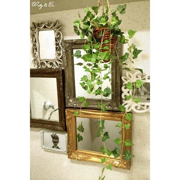 フェイクグリーン ハンギング アイビー 光触媒加工 ( 人工観葉植物 吊り下げ 壁飾り )|wutty|06